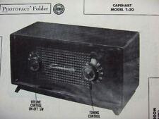 CAPEHART T-30 RADIO PHOTOFACT