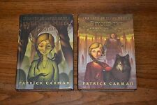 The Land of Elyon Hardcover Books 1 and 2 by Patrick Carman Dark Hills Divide