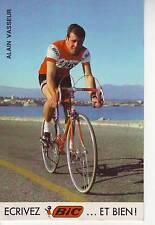 CYCLISME carte ALAIN VASSEUR (equipe BIC ) 1969