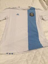 Size Small 2014 BRASIL WORLD CUP SOCCER Shirt COPA DEL MUNDO Adidas Blue White