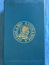 Vita di Girolamo Savonarola. Roberto Ridolfi Sansoni 1974
