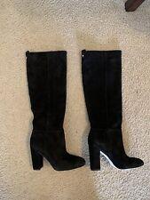 b4a73c772d4 Brand New Sam Edelman Black Suede Knee High Caprice Boots !! (size 6)