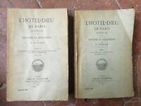 Coyecque DE Hôtel-dieu París A Medio Edad Histoire Documentos 2/2 Champion 1891