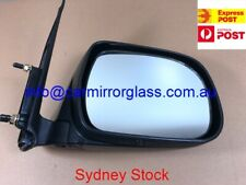 RIGHT DRIVER SIDE MIRROR FOR TOYOTA HILUX 2005 - 2015 (BLACK MANUAL)