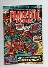 Fantastic Four #152 - World Of Madness World Of Doom! - 1974 (Grade 5.0)