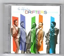 (HY346) The Definitive Drifters, 58 tracks - 2003 double CD