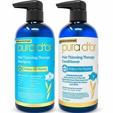 Pura D'or Pura Dor Blue Label Hair Loss Prevention Shampoo and Conditioner Set