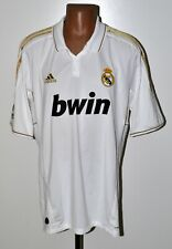REAL MADRID 2011/2012 HOME FOOTBALL SHIRT JERSEY ADIDAS SIZE 2XL ADULT