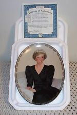 "☆Princess Di ""Our Royal Princess""☆Collecto r Plate☆Styro Box & Ceo☆6th in Series☆"
