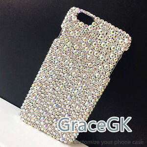 Luxurious Bling phone case cover handmade with A mix AB A-class crystals