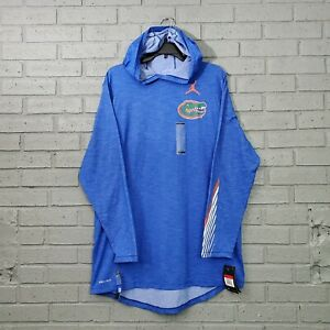$50 Jordan Men's Size L NCAA Florida Gators Long Sleeve Shirt Hoodie AO6609-480