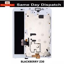 FOR Blackberry Z30 LCD Screen Display & Touch Digitizer Assembly + Frame WHITE
