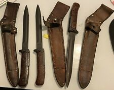 Original Cold War Czech Military Combat Knife Bayonet With Sheath Czech Republic