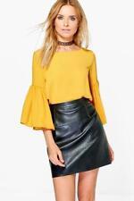 Boohoo Polyester Ruffle Tops & Shirts for Women