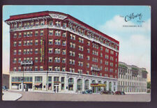 Greensboro North Carolina Nc The Henry Hotel Sreet Cars Vintage Postcard Pc