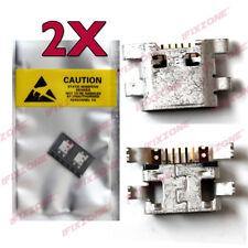 2 X New Micro USB Charging Sync Port For LG STYLO 2 LS775 K520 K540 VS835 USA