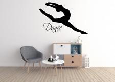 Dance Dancer Quote Words Transfer Wall Art Sticker Decal Decor O94