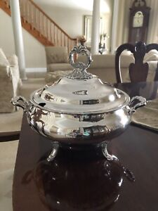 wallace grande baroque Soup Tureen