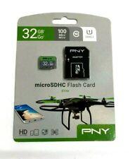 PNY 32GB Elite Class 10 UHS-1 microSDHC Flash Memory Card
