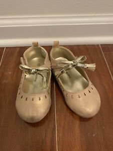 Koalakids Slippers Girl Shoes New Gold Pink Size 6 Toddler