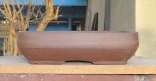 "Rectangle Zisha Bonsai Pot Shohin Dwarf Planter 6.5""x5""x1.75"""
