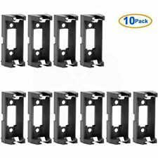 10 Pcs CR123A Lithium Battery Holder Box Clip Case W PCB Solder Mounting Lead By