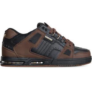 Globe Skateboard Shoes Sabre Black/Brown Mens