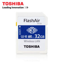WiFi Wireless W-04 32GB SDHC Speicherkarte LAN sicher Toshiba U3 Karte Digital