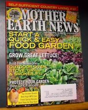Mother Earth News Magazine Apr/May 2010 Food Garden Outdoor Oven Smoker Grill