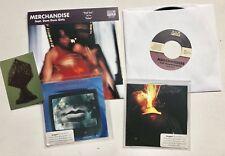 MERCHANDISE - RED SUN 7'' RECORD + ENEMY + LITTLE KILLER 2 X PROMO CD + Sticker