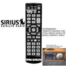 Sirius Remote Control for Tivoli Satellite AM/FM Model Table Radio compact shelf