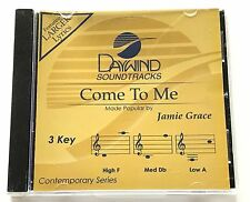 Daywind - Jamie Grace - Come To Me - accompaniment track christian cd new 8370D