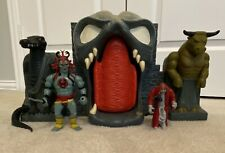 Vintage Mumm-Ra's Tomb Fortress playset Thundercats  80s toy rare With Figures
