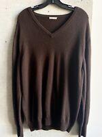 Bottega Veneta Mens Cashmere Sweater Top Shirt Size Italian 54