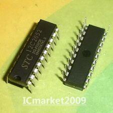 50 PCS STC12C2052-35I-PDIP20 DIP-20 STC 12C2052 35I-PDIP20 New Genuine MCU