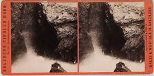 Original 1880er Stereoaufnahme GASTEIN Liechtenstein-Klamm von BALDI & WÜRTHLE