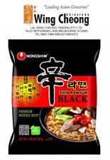 4 X 130g NongShim Shin Ramyun Black Noodle Spicy Instant Korean Noodles Bulk Buy