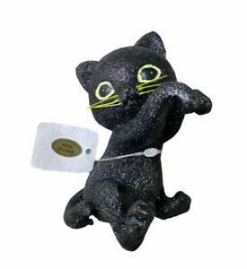 PRERELEASE Bath & Body Works 2021 Halloween Hanging Black Cat for Candle NEW