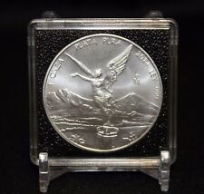 6 Mexican Libertad 2x2 Coin Snaplock Capsule QUADRUM Intercept 41mm Case