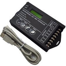 TC420 Time programmable RGB LED Controller DC12V-24V 5Channel LED Tim dimmer
