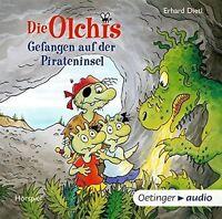 ERHARD DIETL - DIE OLCHIS.GEFANGEN AUF DER PIRATENINSEL  2 CD NEU