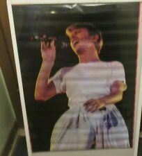 David Bowie Poster New 1978 Rare Vintage Collectible Oop Live Ziggy Stardust