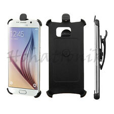 For Samsung Galaxy S6 Holster Ultra Slim Case Snap On Rotating Swivel Belt Clip
