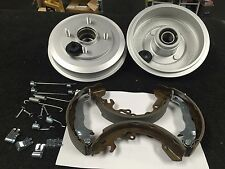 FORD FOCUS 1998-04 BRAKE DRUM COATED FITTED BEARING SHOES BRAKE SHOE FITTING KIT