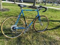 "Vintage 1974 Raleigh Grand Prix Touring Road Bike Large 58cm 27"" Carbon Steel"