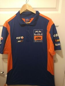 Red Bull KTM Tech 3 MotoGP Polo Size Men's Large Hardly Worn