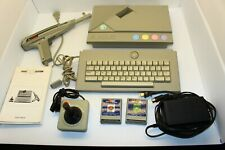 Vintage Atari XE Game System w/ Light Gun and Games *TESTED, WORKING*
