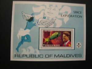Republic of Maldives Space Exploration lot of 6 stamp S/S  MNH OG