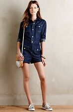 NWT Alexa Chung For Adriano Goldschmied AG Denim Romper Size Large
