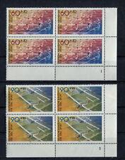 Bund Formnummer 1094 - 1095 VB Eckrand Viererblock postfrisch FN Ecke 4